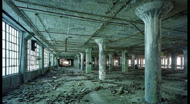 mesto detroit budova 1