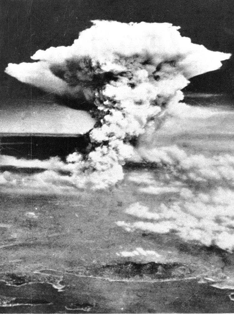 Atómový výbuch v Hirošime 1945