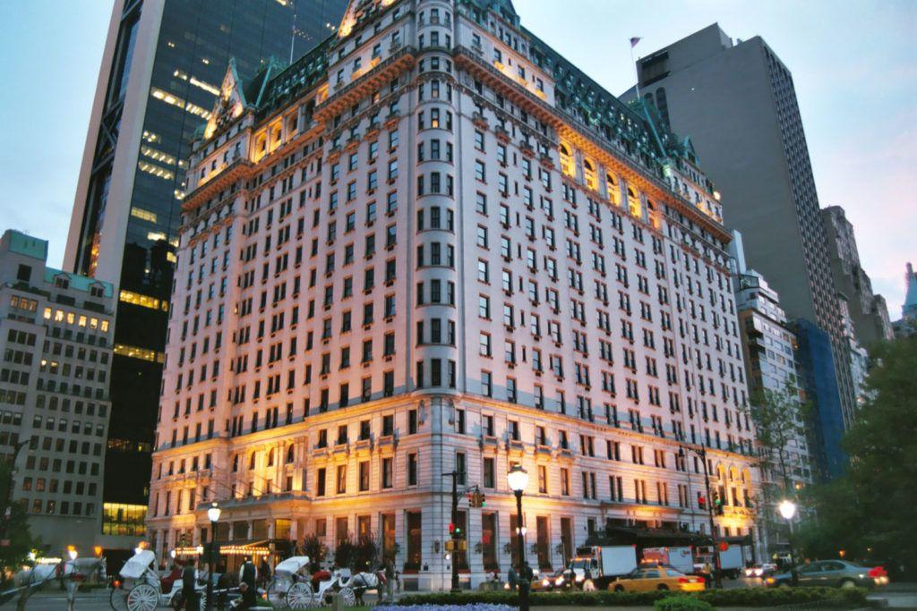 Hotel Plaza v New Yorku