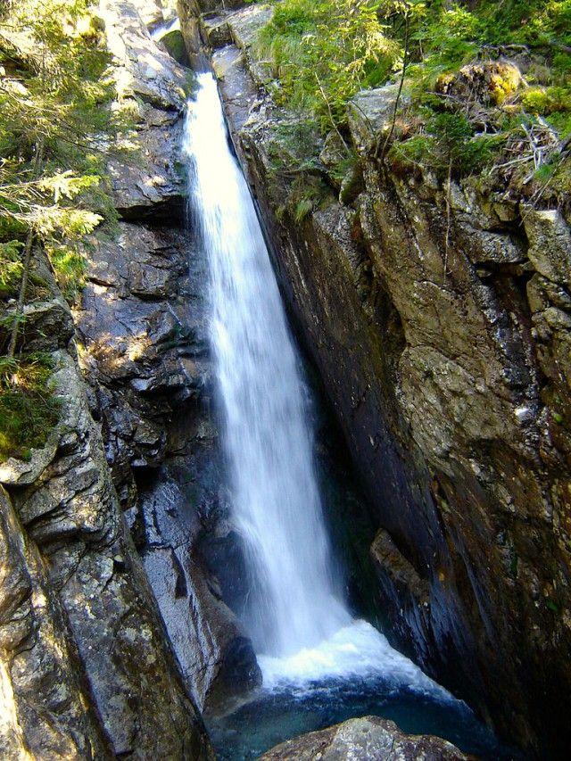 obrovsky vodopad tatry