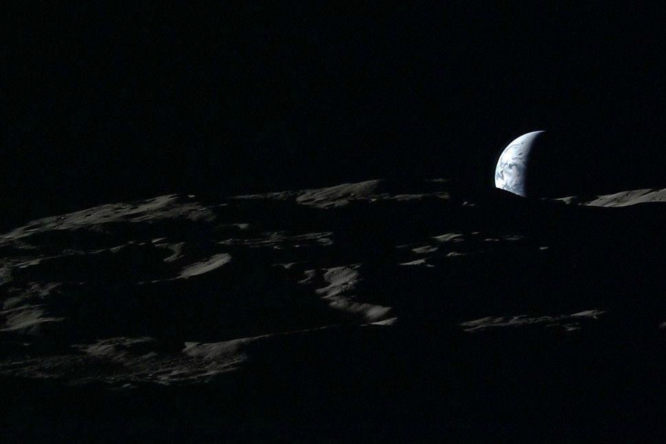 vychod zeme z mesiaca