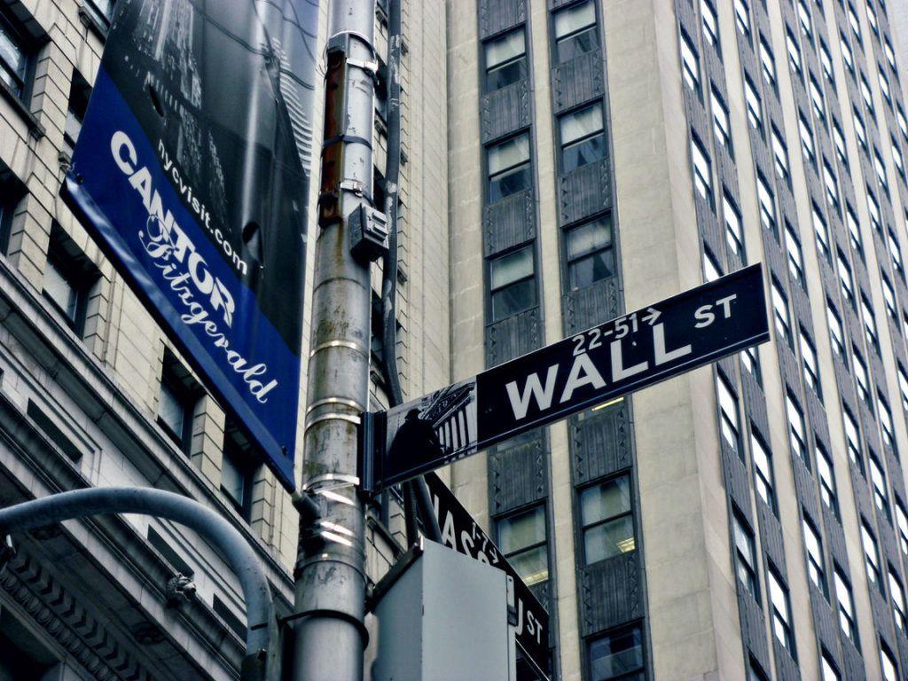 Ulica Wall Street v New Yorku