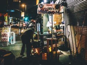 fotografie ulic mesta Los Angeles