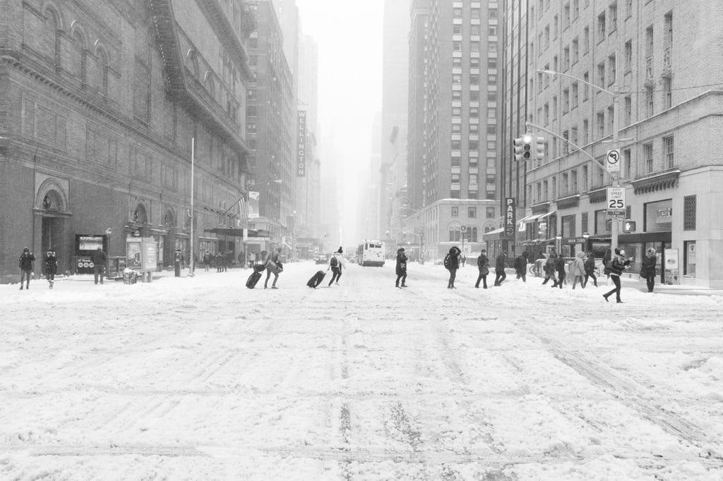 ciernobiely zasnezeny new york