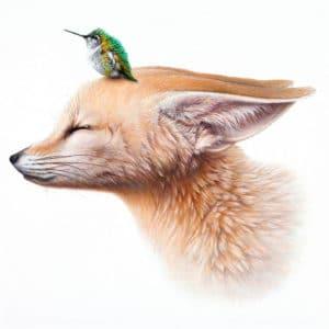 Kanadský umelec Jacub Gagnon vytvára surrealistické ilustrácie ktoré transformujú svet zvierat do zložitého puzzle v ktorom sa role a živočíšne druhy stretávajú navzájom s harmóniou a jemnosťou