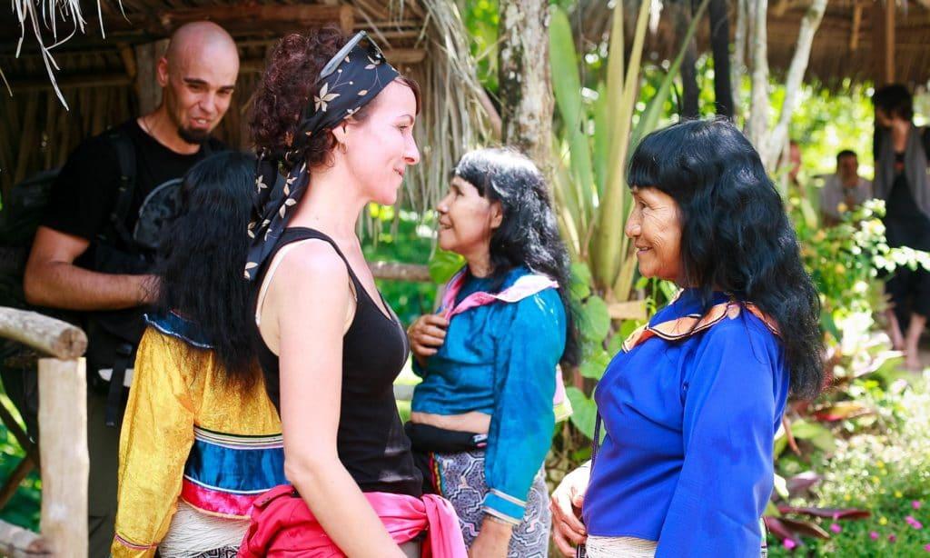 centrum kde ponukaju rastlinu ayahuasca