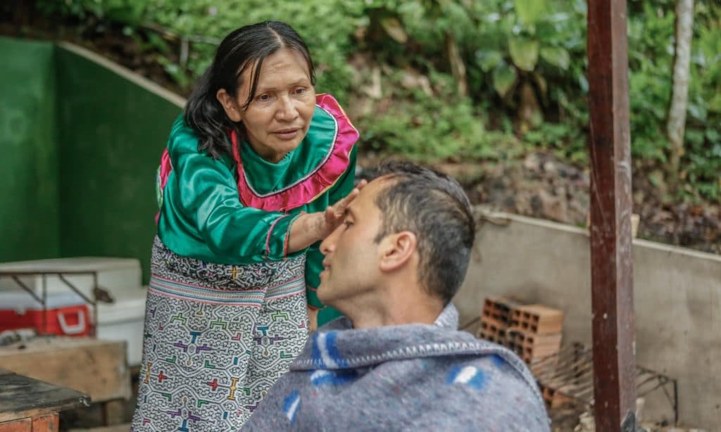 Iquitos mesto kde sa uziva ayahuasca