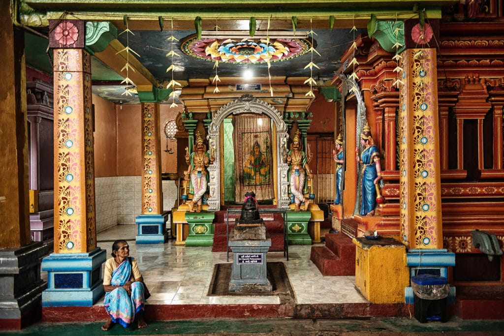 Tieto prvky by mohli odhalit ale povedal by som že flóra s jej farbami architektúra a samozrejme kultúra so všetkými náboženskými praktikami krajinu akou je napríklad Srí Lanka Toto je veľmi dôležitý aspekt ostrova