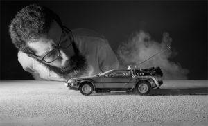 Navrat do buducnosti - retro sceny od fotografa Felix Hernandez