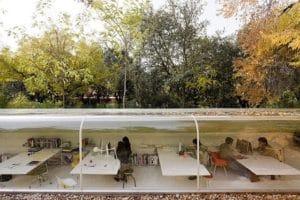 kancelaria postavena v lese vedla hlavneho mesta spanielska, madrid
