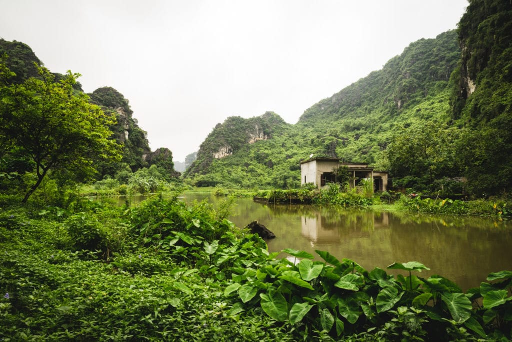 Vietnam uzasna krajina plna zelene
