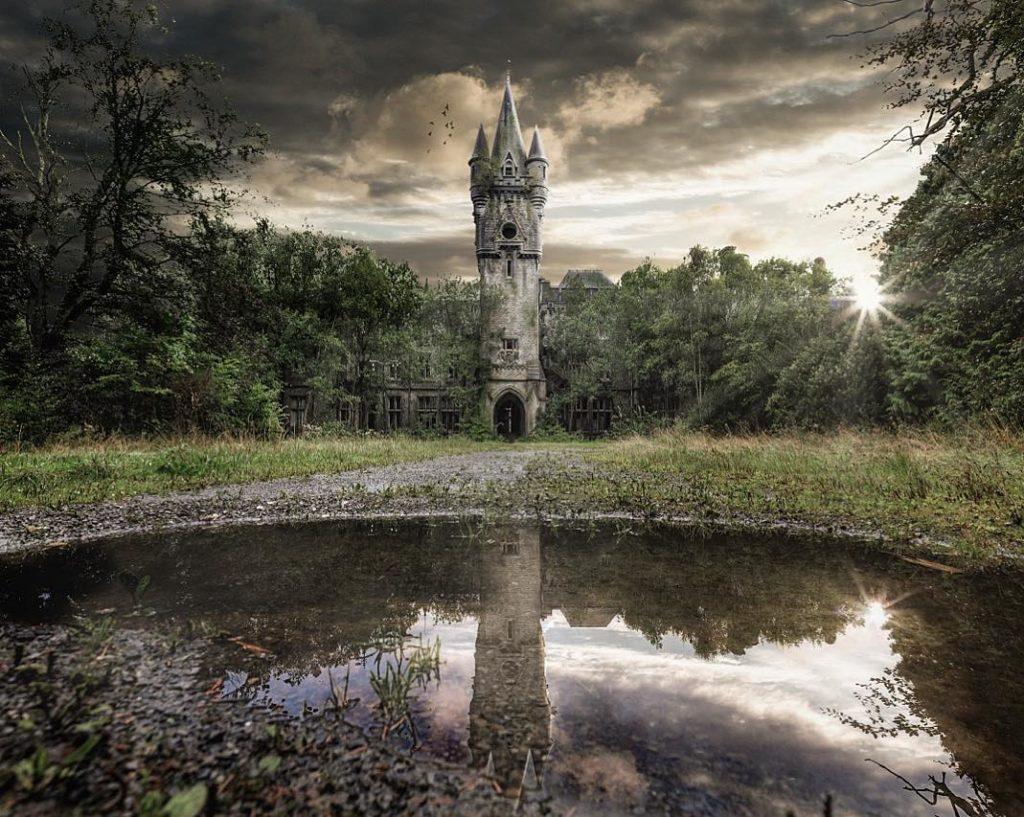 Utopistická predstava opusteného Nemecka z budúcnosti