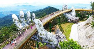 Bozie ruky vo Vietname drzia most
