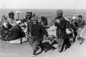Hladujúci vojaci Stalingradu