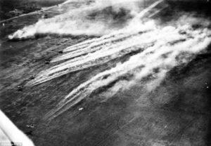 nalet nemeckych bombarderov