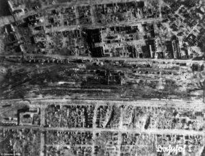 zbombardovany Stalingrad
