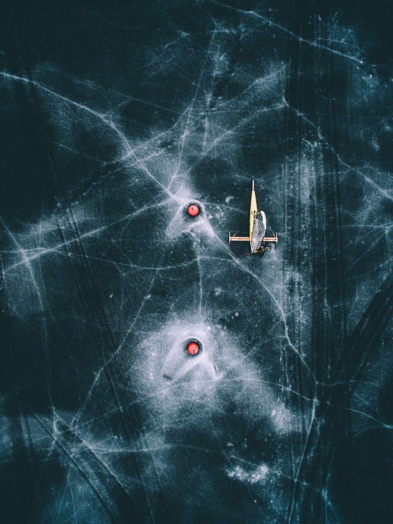 Letecké zábery fotografa Tobias Hägg