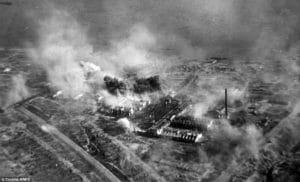 znicene mesto Stalingrad