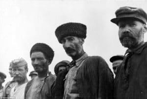 Ruskí vojaci v zajatí Nemcov