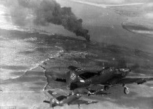 Neemcké Štuky obliehajú Stalingrad