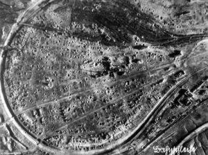 na sminke Stalingrad zniceny bombami