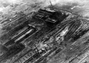 Znicena tovaren v Stalingrade