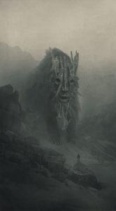 depresia vykreslena pomocou ilustracie umelca Dawida Planeta