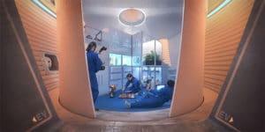 Budovanie obydli na Marse pomocou 3D tlaciarne