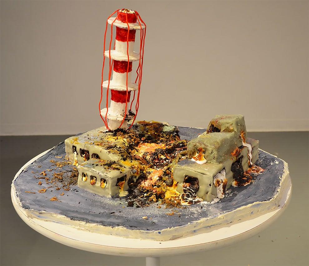 Pekárka premenila zničený Černobyľ a zbombardované mesto Oklahoma na tortu