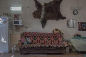 Garaze na Sibiri, ktore boli prerobene na obytne sidla