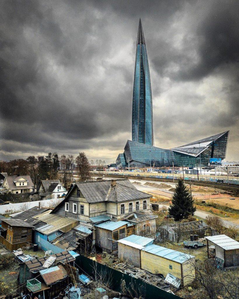 Rusko urbex fotografia opustene miesta